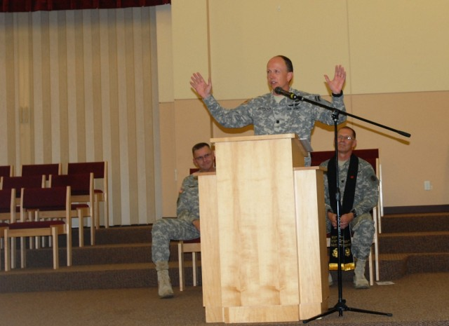 7th Infantry Division welcomes new Chaplain