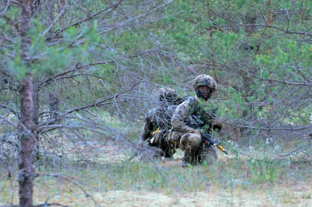 Multinational forces clash at culminating Saber Strike 15 FTX