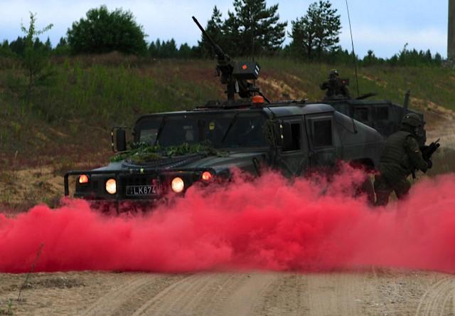 Final battle, ceremony close out Saber Strike 2015