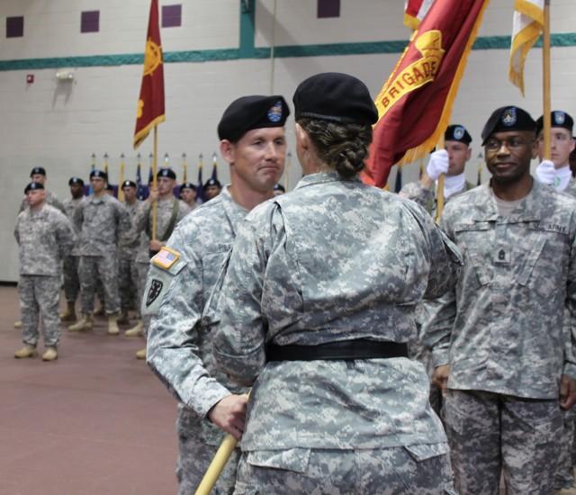 Col. Stephen Riley, new 597th Trans. Bde. commander