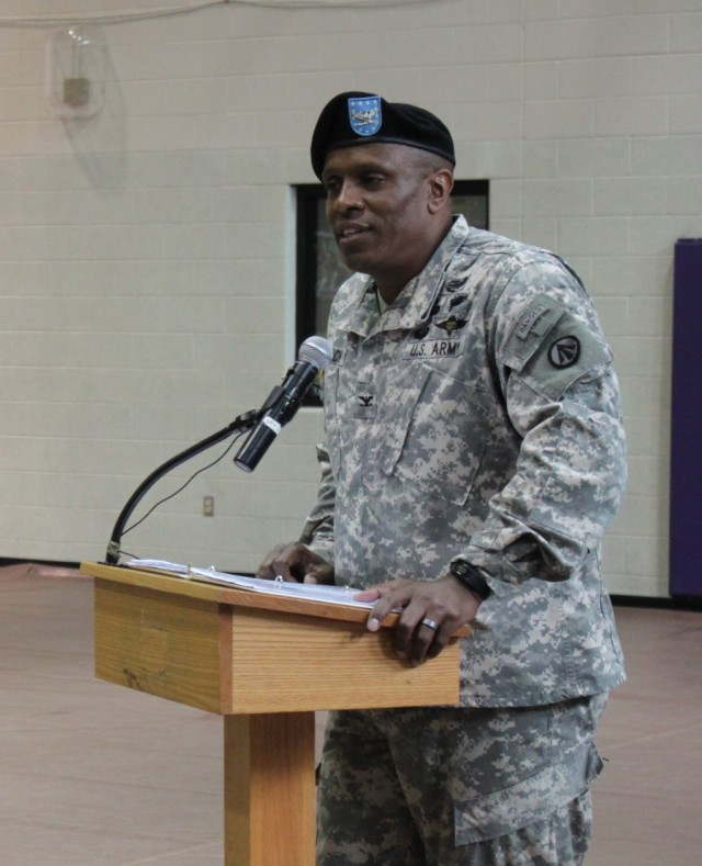 597th Trans. Bde. Change of Command Ceremony