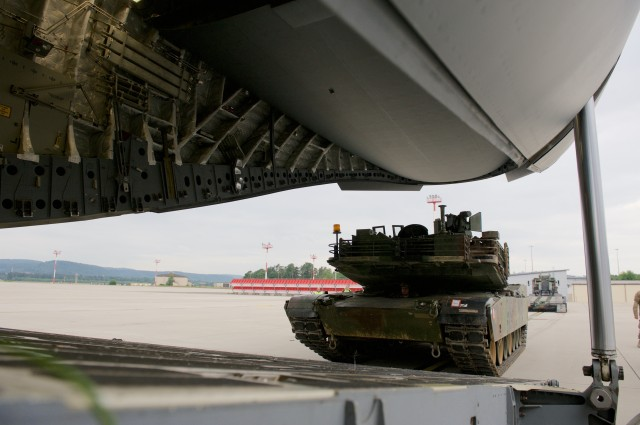 Abrams tanks head to Bulgaria