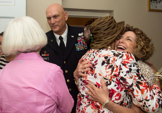 Odierno thanks Army Arlington Ladies for their dedication