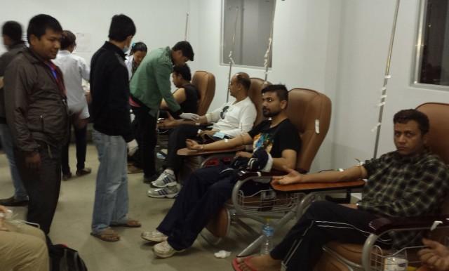 Tribuvan University Teaching Hospital Blood Center donors