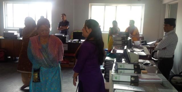 Tribuvan University Teaching Hospital Blood Center office space