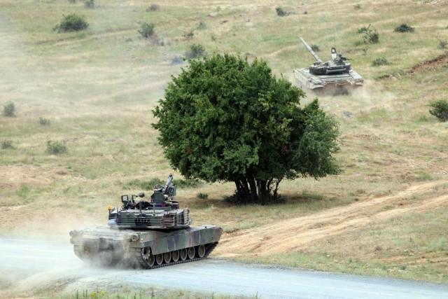 M1A2 Live Fire Bulgaria