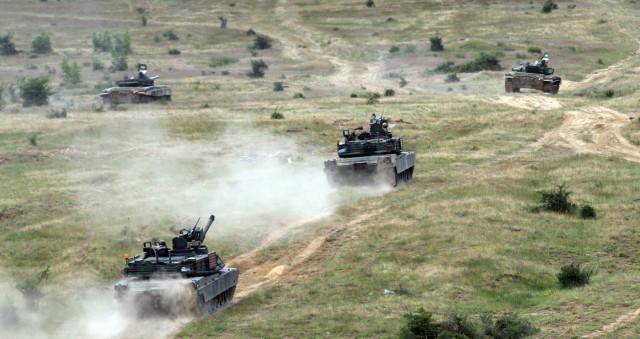 M1A2 Live Fire Abrams