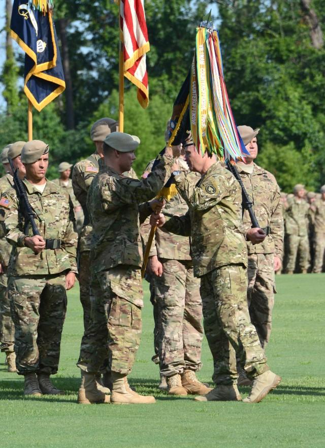 2015 Ranger Rendezvous change of command