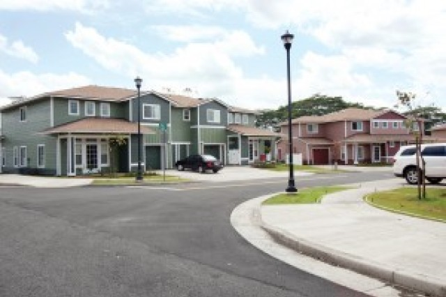 Helemano Military Reservation, a housing area for Schofield Barracks, Hawaii, uses photovoltaic energy.