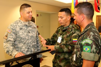 Army South, partner armies work together to develop enlisted leaders