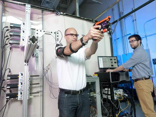 Army researcher's interest in robotics leads to innovative device