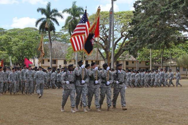 45th Sustainment Brigade transitions to 25th Infantry Division