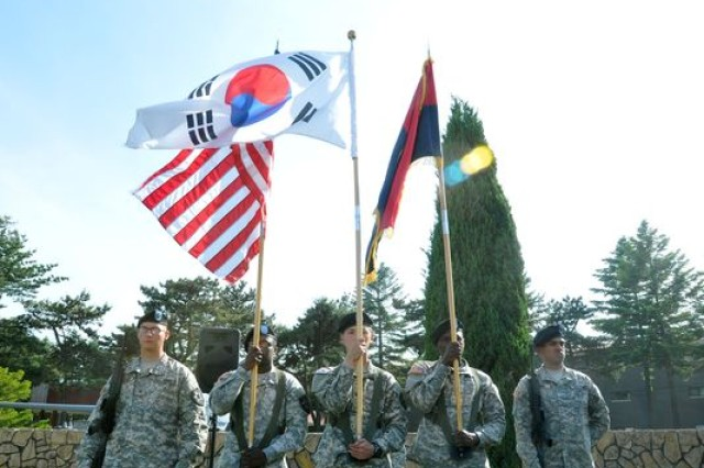 "The 2nd Infantry Division carries the title ""longest serving forward-deployed division in U.S. Army history."