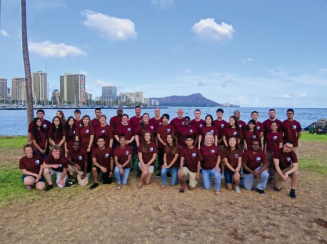IMCOM region leadership forum fosters teenagers