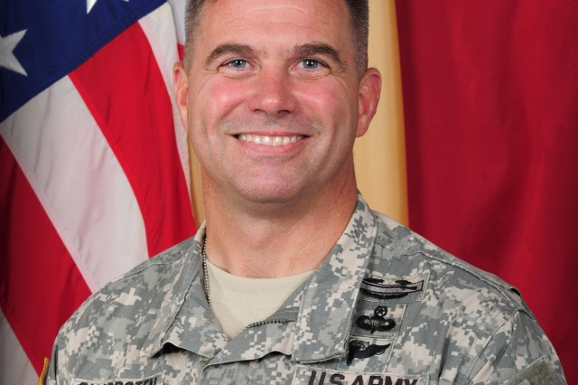 Brig. Gen. Christopher J. Sharpsten, commanding general of 3rd Expeditionary Sustainment Command.