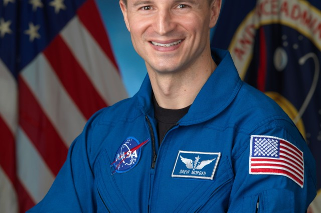 Army astronaut Maj. Andrew Morgan is shown.