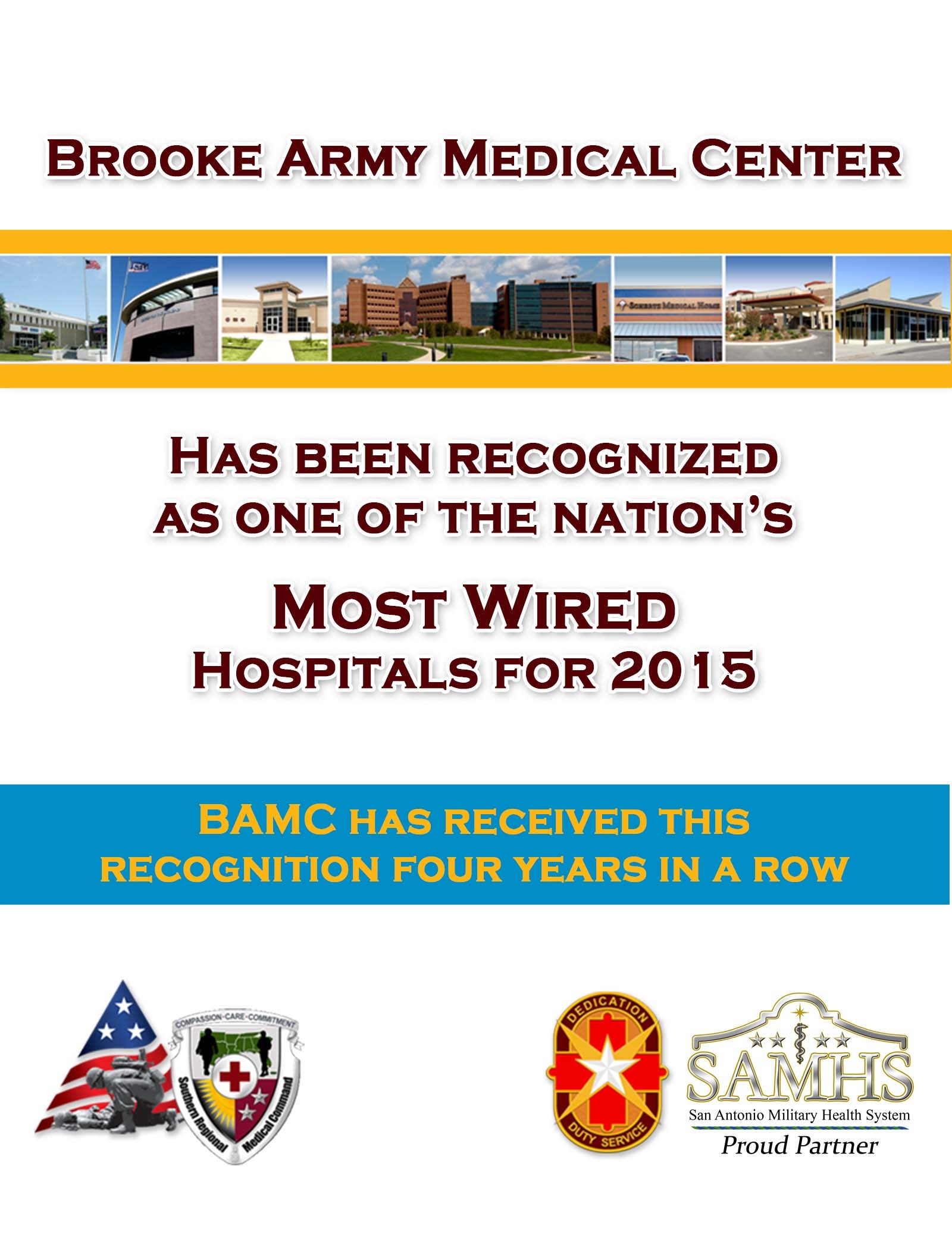 Army hospital earns fourth \'Most Wired\' honor for technology ...