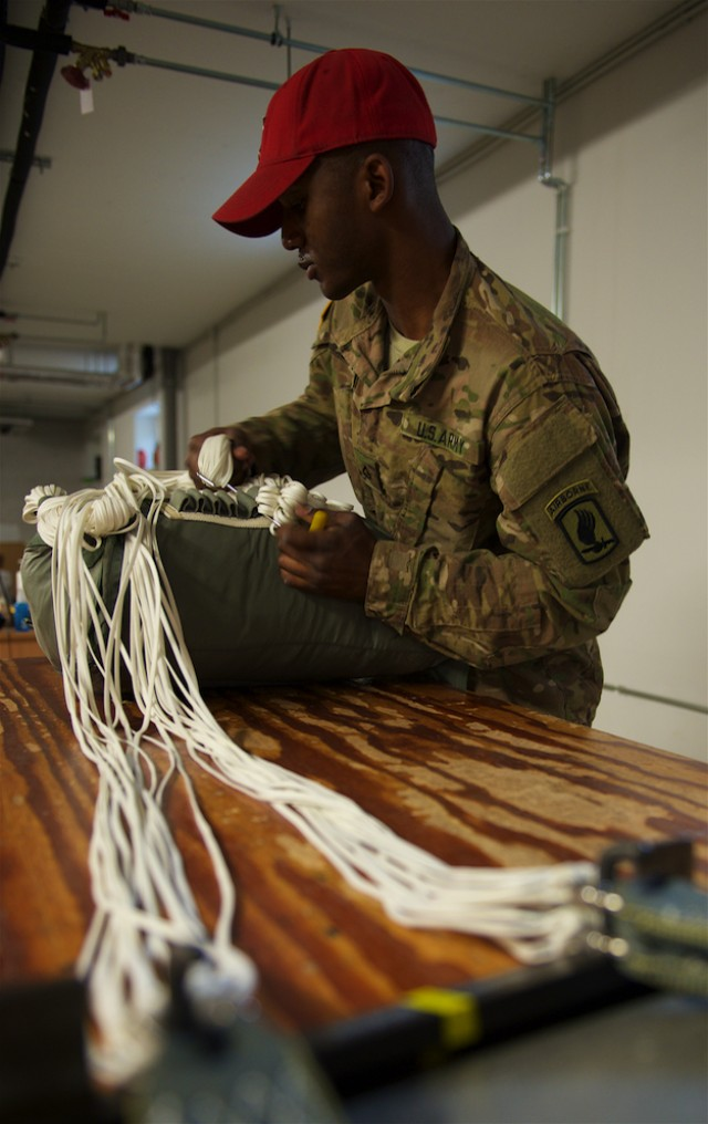 Riggers help 'Sky Soldiers' stay mission- capable during Operation Atlantic Resolve