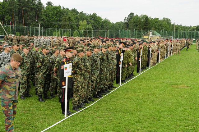 Exercise Rapid Trident 2015 begins in Ukraine
