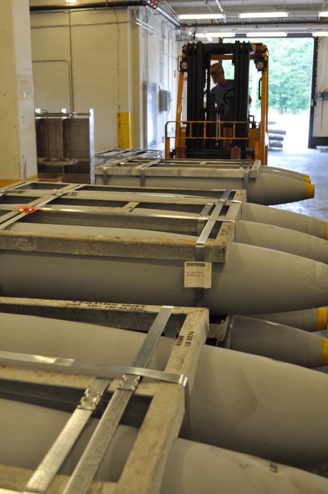 Crane Army Key for Navy Aircraft Bomb Renovation