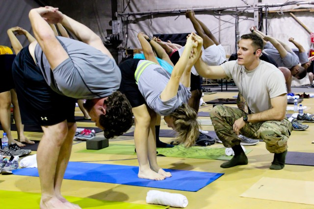 Yoga Pose Flow Chart: First Yoga Fest held on Bagram Airfield | Article | The United ,Chart