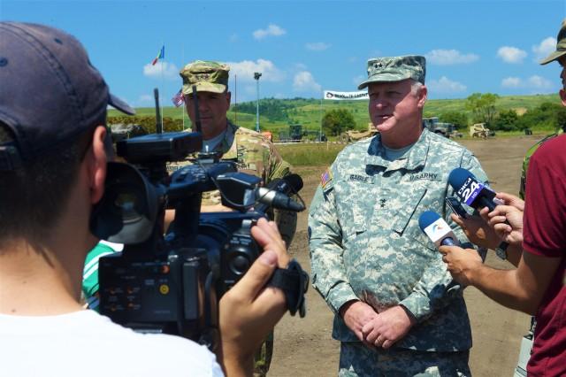 US, Romania showcase engineering capabilities during Resolute Castle event