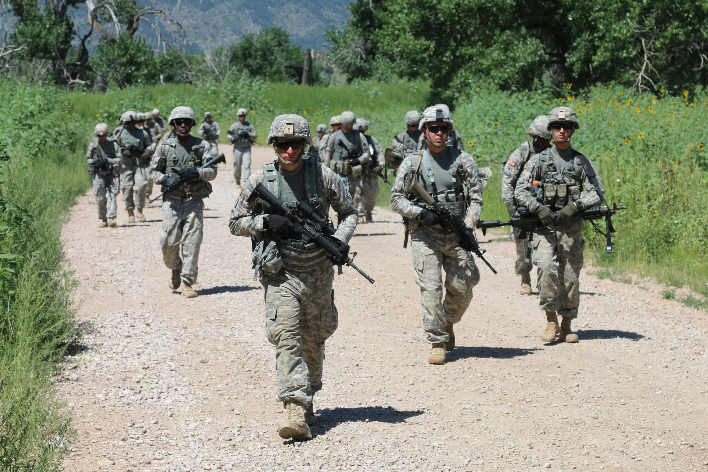 2nd IBCT Soldiers test endurance and mental toughness ...