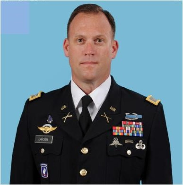 COL Michael M. Larsen, Garrison Commander, USAG-KA