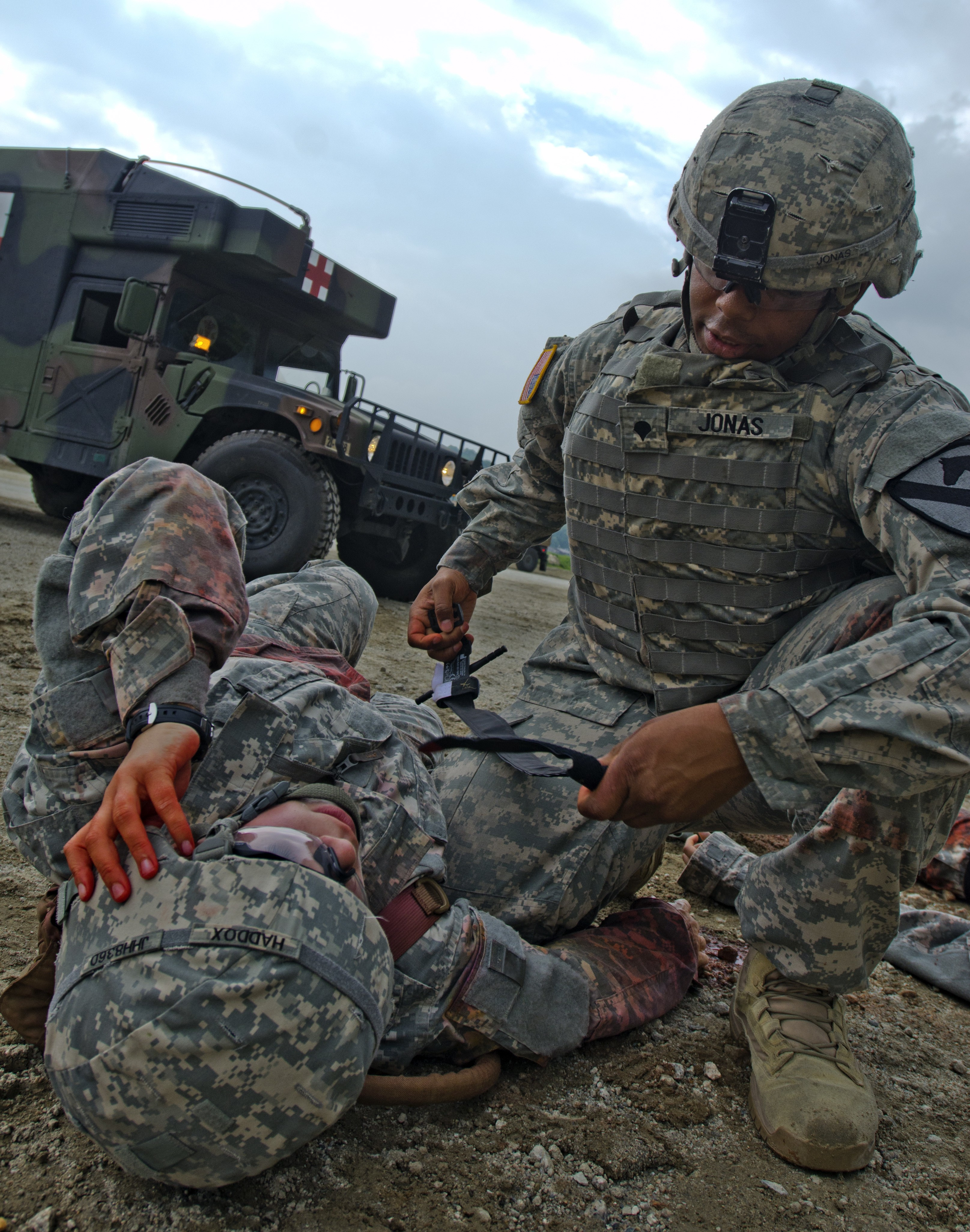 Combat Medics Train As They Fight Article The United