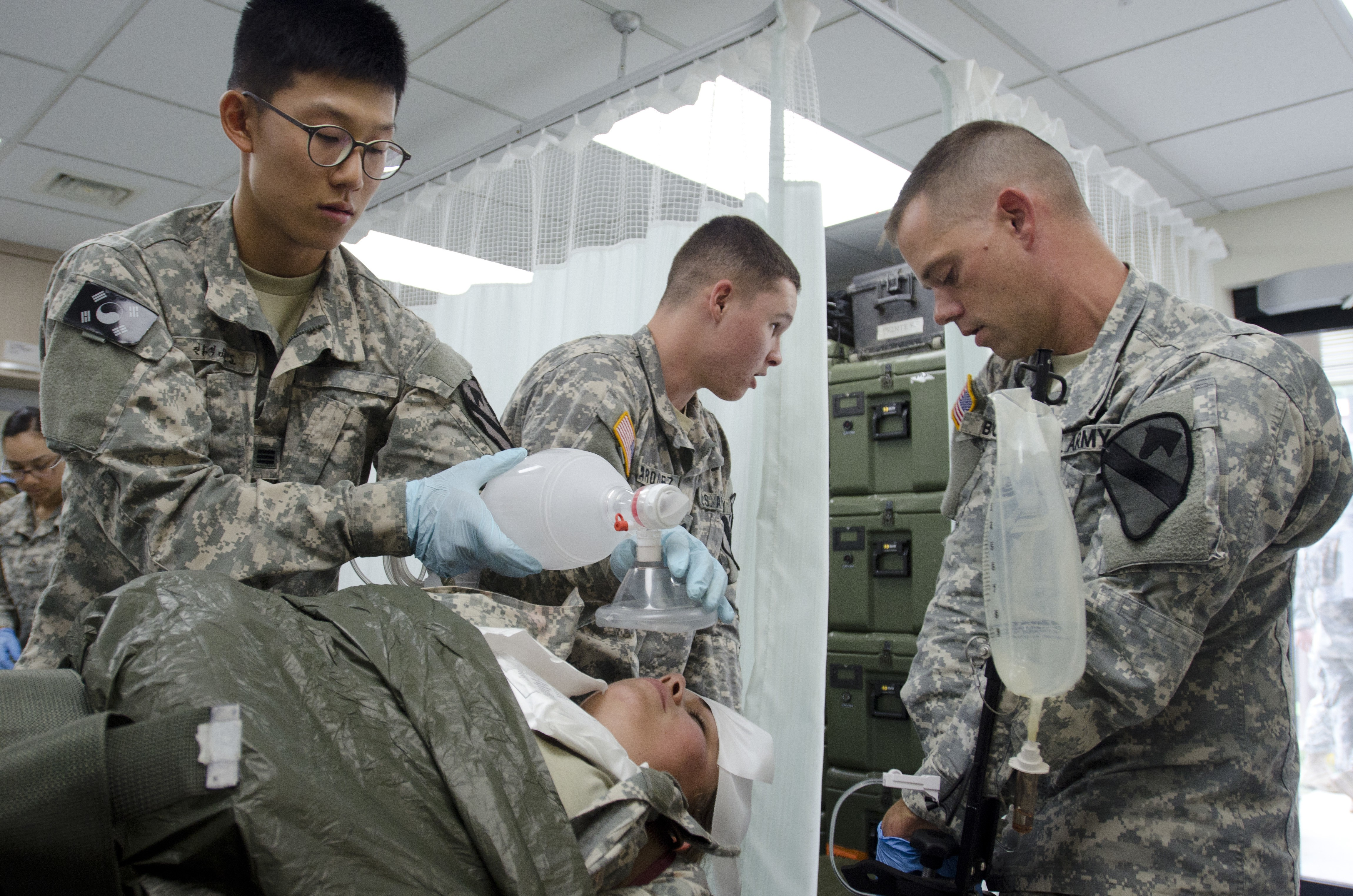 Combat medics train as they fight | Article | The United States Army