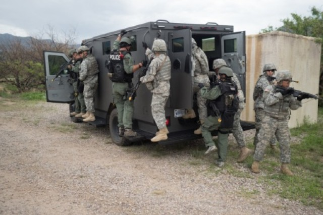 Military police use partnerships to enhance training | Article ...