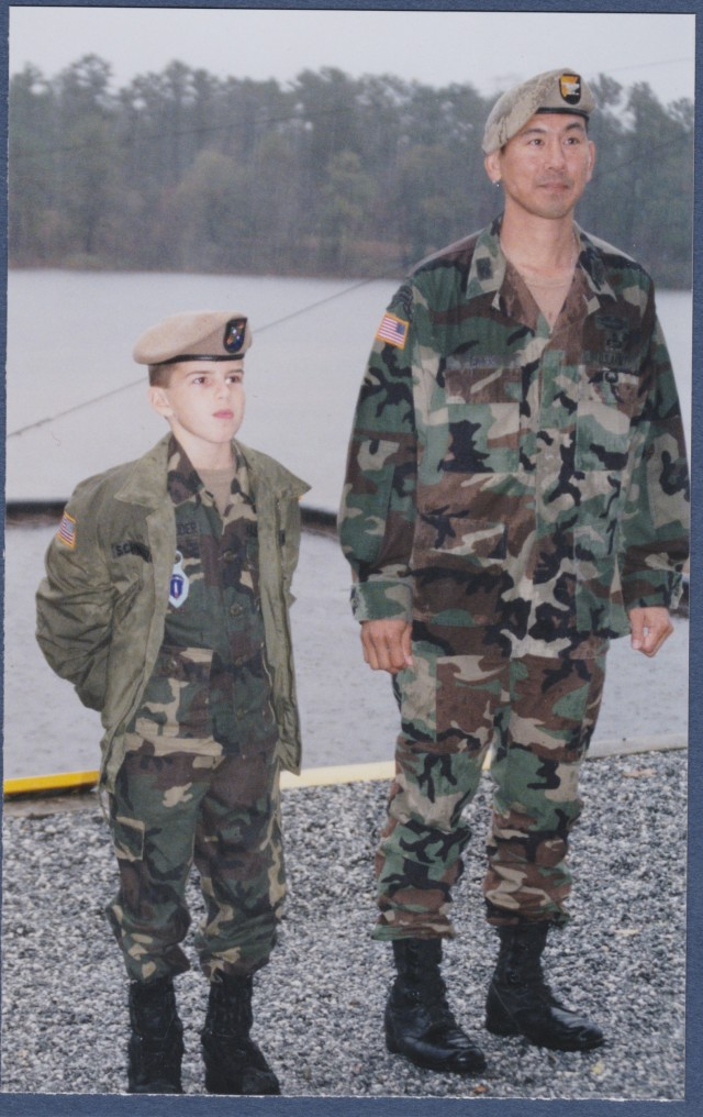 Make-A-Wish recipient reunites with Army general