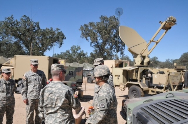 Challenging terrain provides realistic training for signal soldiers