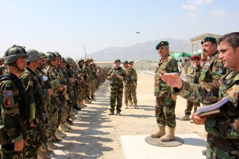 Senior Afghan National Army and Resolute Support leaders visited Train Advise Assist Command-East and 201 Corps at Tactical Base Gamberi July 30, 2015.