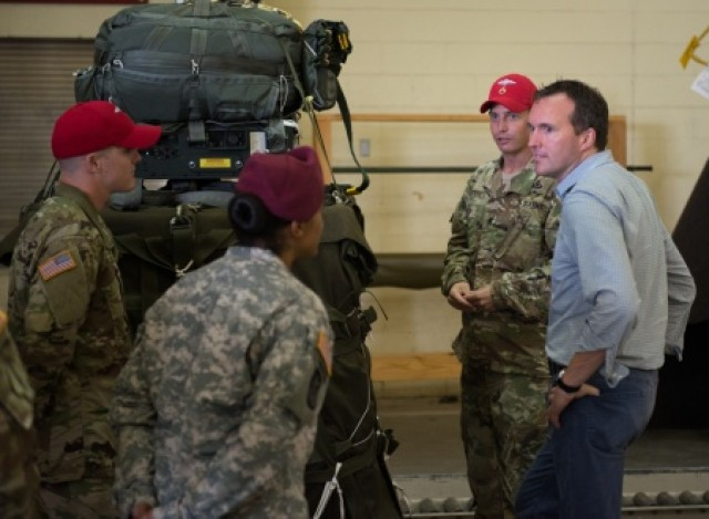 Acting Under Secretary of the Army Ft. Bragg Visit