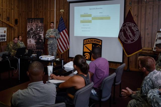 Redstone officers mentor Alabama A&M cadets