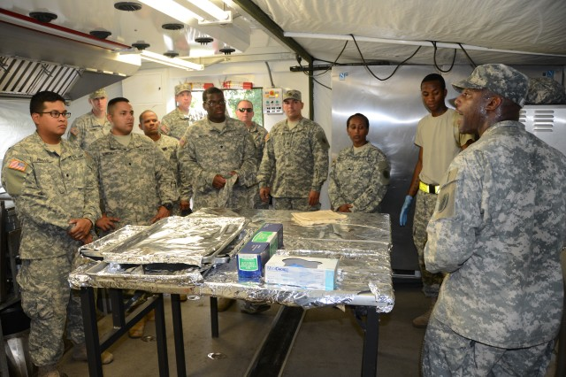 Army South's Headquarters Support Company cranks up the ...