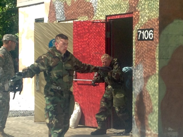 Cadets test mental skills in the field