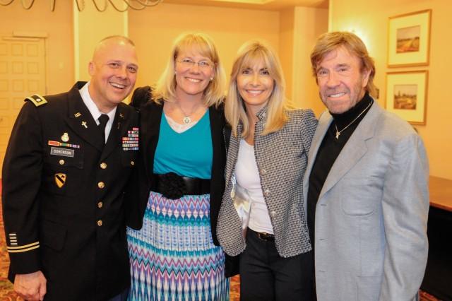 Army Chaplain Makes Rare Appearance At Air War College