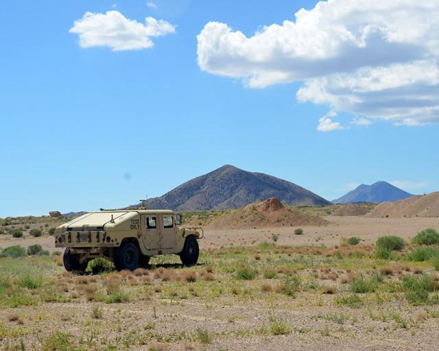 The Pronto4™ Uomo Applique' Kit tested at U.S. Army Proving Ground, Utah.