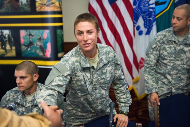 First female Rangers believe experience makes them better leaders