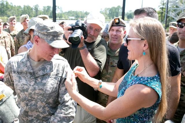 First women graduate from Ranger Course