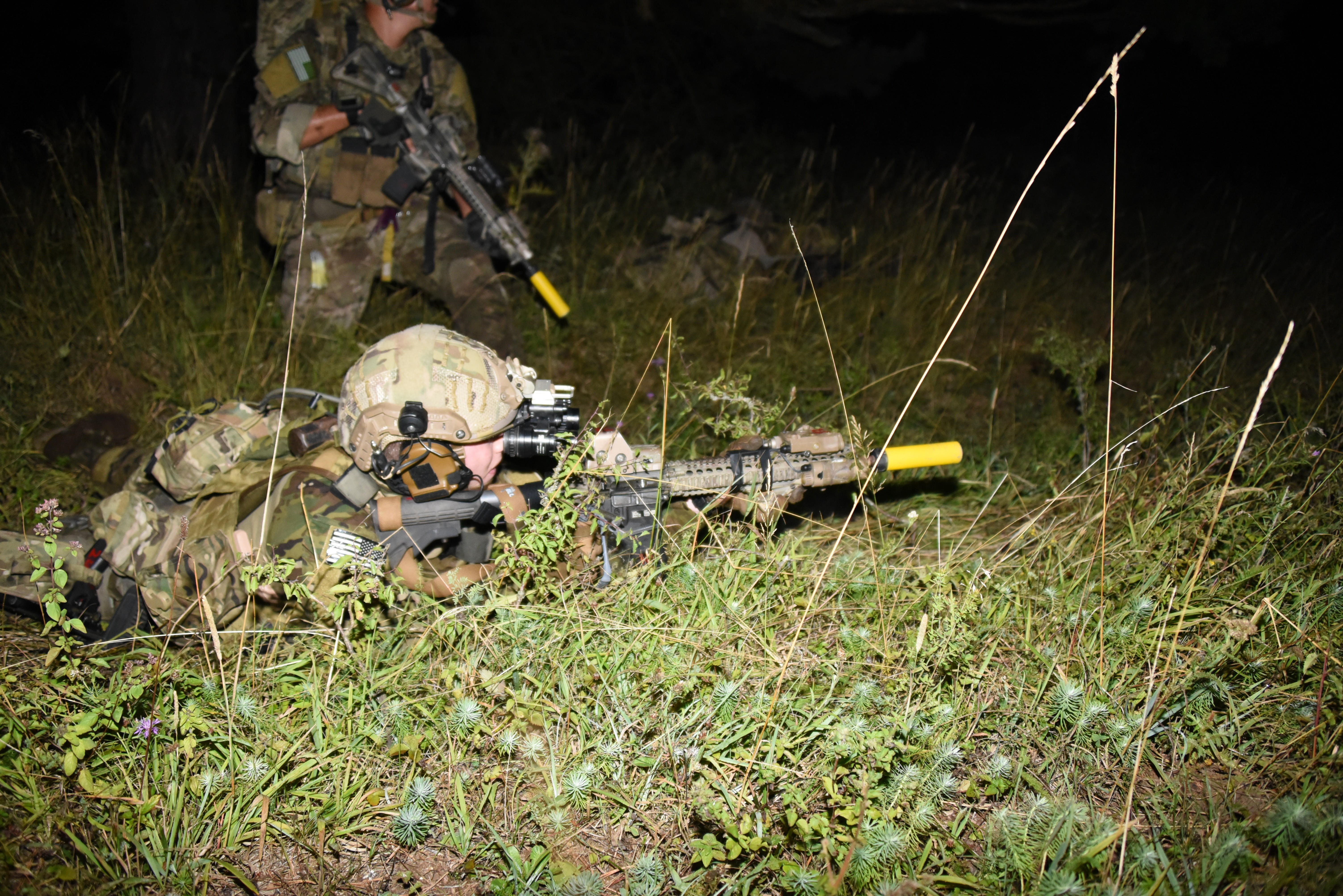 a coalition of rangers train together in swift response article