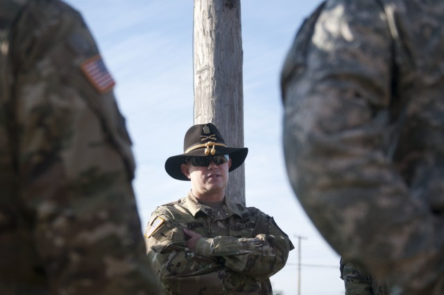 Senior NCO says passion, discipline leads Soldiers to top