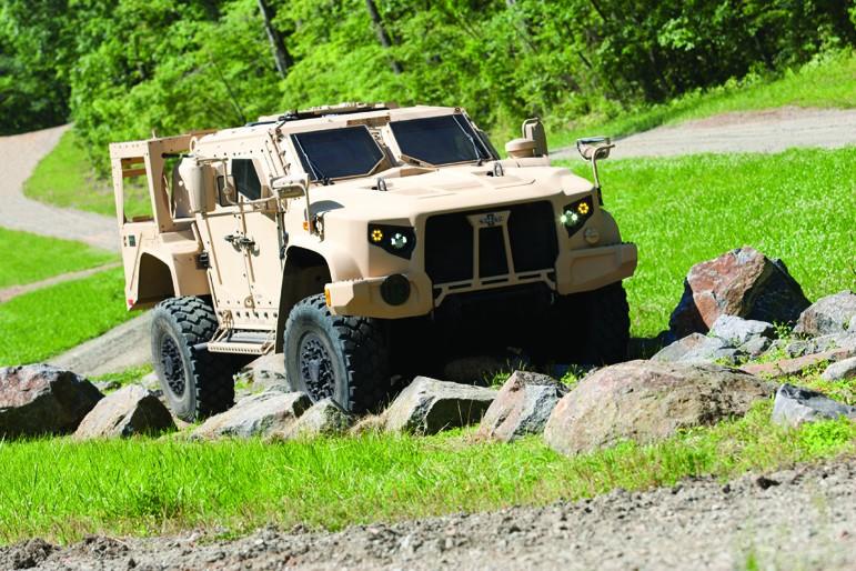 Oshkosh Defense Jltv >> Oshkosh Wins Contract To Manufacture Joint Light Tactical Vehicle
