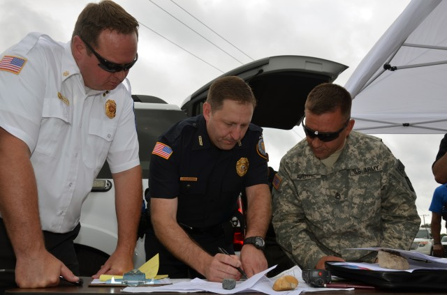 APG emergency exercise tests installation response plans, ops