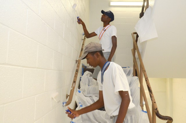 Renovation project brings together ChalleNGe cadets, MDNG, volunteers