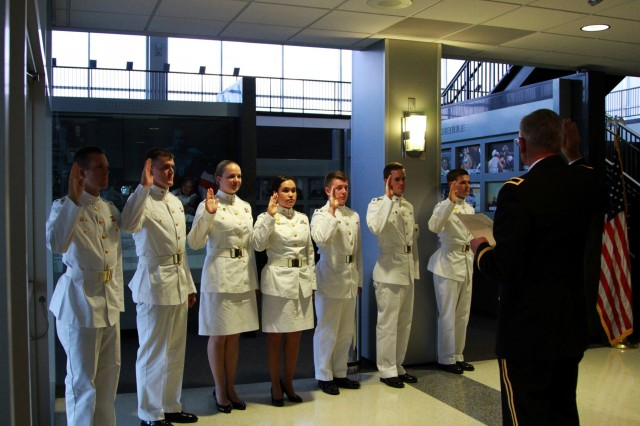 West Point exchange cadets reaffirm commitment to Army service