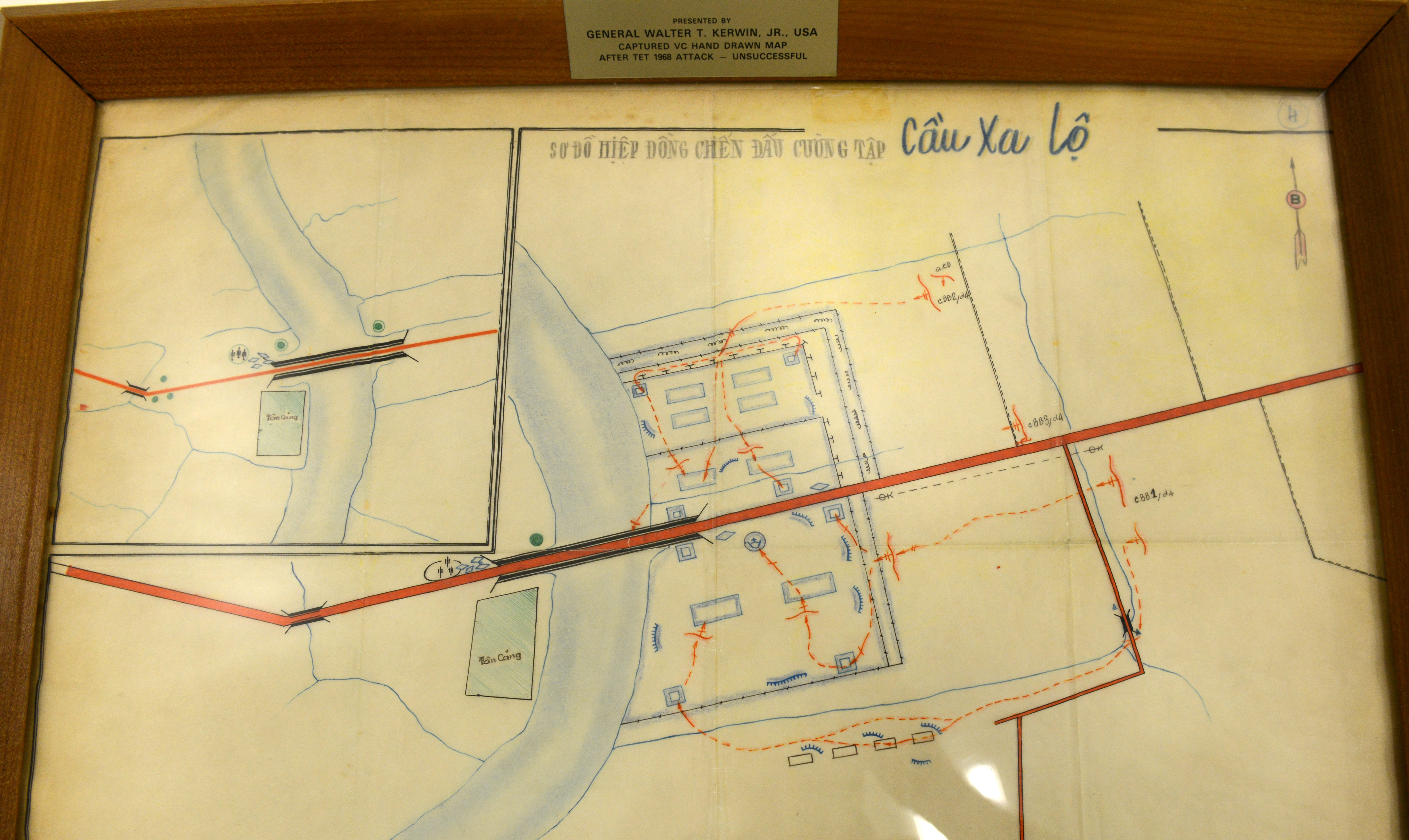 Army Works To Open Vietnam War Exhibit Article The United - Change map of 1968 us
