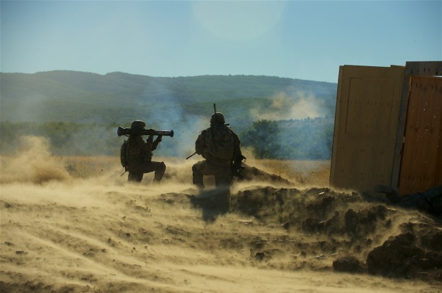 US, Bulgarian Soldiers conduct combined live fire exercise
